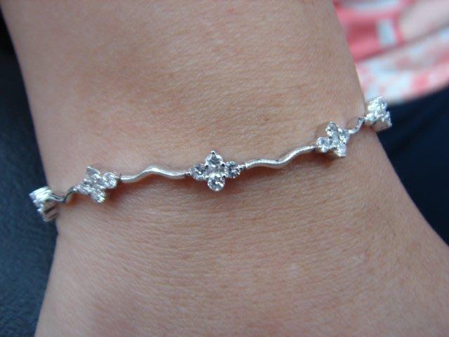拍賣鑽石手鍊