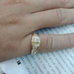 潤泰鑽石流當區 流當鑽石 45分 H色 K金 豪華鑽戒 喜歡價可議 KS002