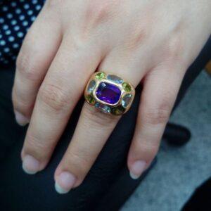 台中流當寶石戒指